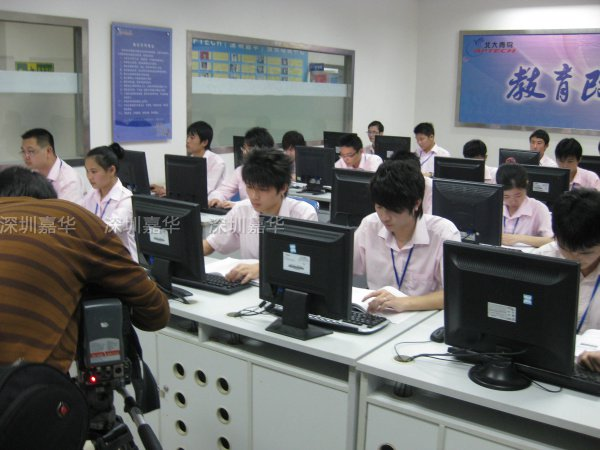 CCTV2摄制现场