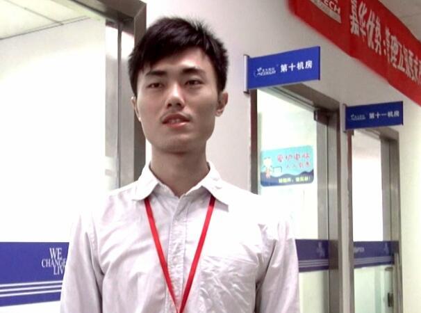 北大青鸟深圳嘉华学校在读学员马*权同学学习感言
