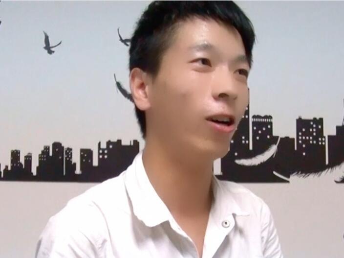 深圳北大青鸟嘉华学校在读学员罗波*学习感言