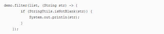 Java开发教程之Java8 新特性Lambda 表达式介绍8