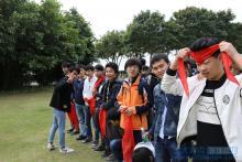 深圳嘉华网络工程专业学员红树林拓展活动